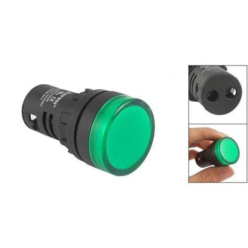 Panel Mount Green Pilot Light Signal Indicator Lamp AC DC 24V car light Bulbs light(China (Mainland))