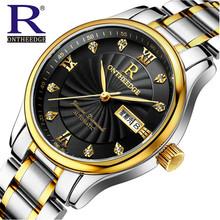 Buy New Brand Relogio Feminino Date Day Clock Female Stainless Steel Watch Ladies Fashion Casual Watch Quartz Wrist Men Watches 1853 for $21.24 in AliExpress store