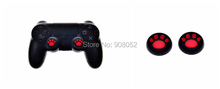 20pairs x Silicone Analog Controller Thumb Stick Grips Cap Cover for Sony Play Station 4 PS4 thumbsticks Game Accessories