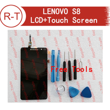 Lenovo Warrior s8 LCD Screen Replacement 100% Original LCD Display Screen+Touch Screen Assembly For Lenovo s898t+ S8 Smartphone