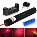 High Powered 303 Red Laser Pointer Pen Burning Firecrackers Lazer Verde 8000 Meter Long Range Unversal