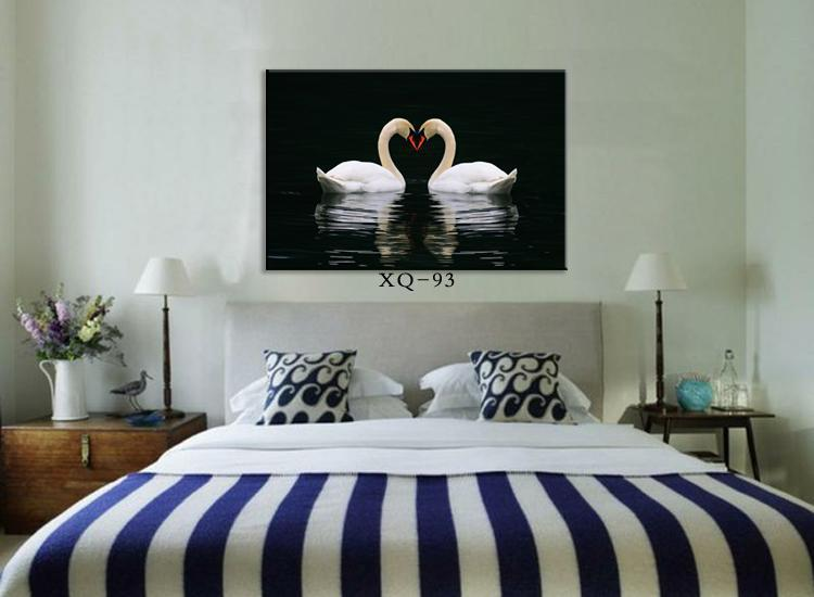 Modern Bedroom Wall Painting Wall Picture Home Decorative Bedside Romantic Pa