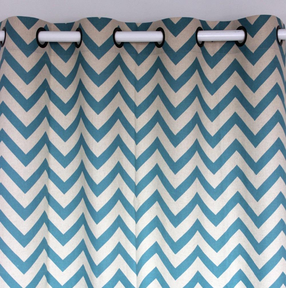 achetez en gros chevron imprimer rideaux en ligne des grossistes chevron imprimer rideaux. Black Bedroom Furniture Sets. Home Design Ideas