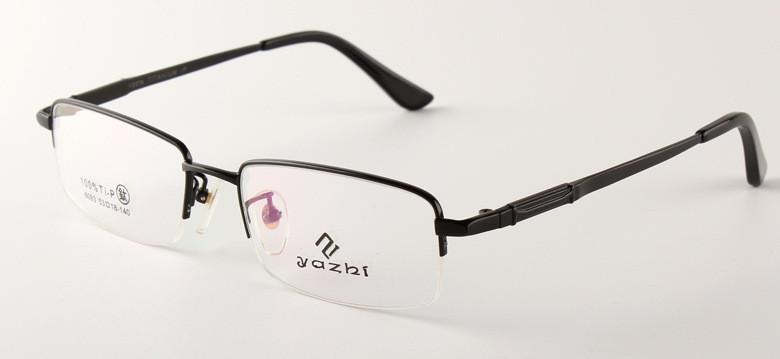 New Classic and Simple Design Quality Titanium Glasses Men Optica Frames Half Frame Titan Glasses(China (Mainland))