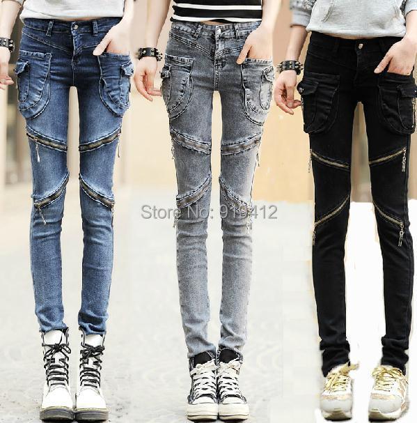 Perfect 2017 New Fashion Summer Baggy Pants Women Vintage Denim Plus Size