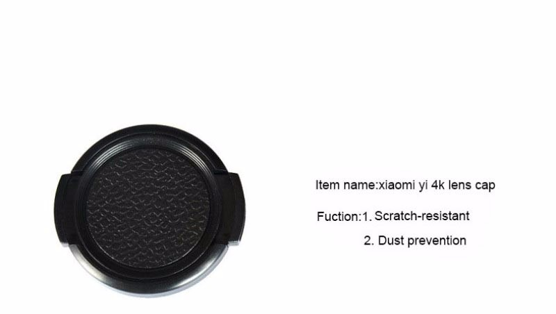 xiaomi yi 4K 2 action sport camera 37mm UV filter lens + lens cap Xiaomi yi 2 4k sport camera Accessories