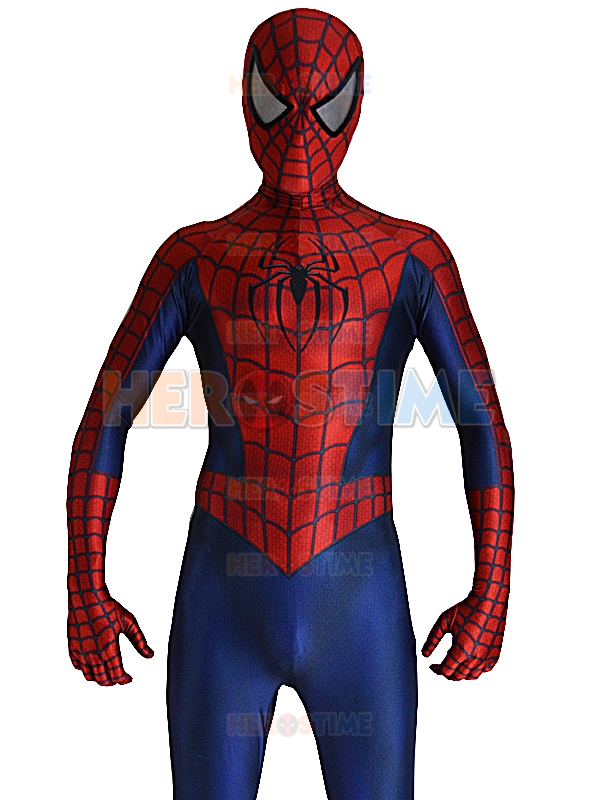 Red & Blue is the Spider-Man suit. I can take temporary variations to the costume, but you can't stop a classic. I can take temporary variations to the costume, but you can't stop a classic. Smart.