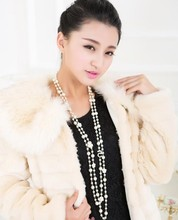 XL20 CC jewelry 2015 luxury famous brand long pearl colares collier bijoux bijouterie necklaces collares mujer