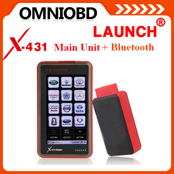 Top Launch x431 diagun main unit + bluetooth newest with TF card Battery diagun main unit bluetooth stock(China (Mainland))