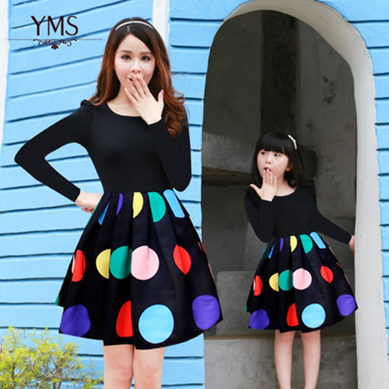 Dress for Mom and Baby Girl Mother Daughter Matching