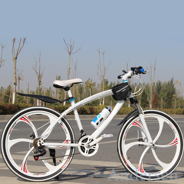 Free Shipping 26 Inch 24 Speed Mountain Bike Bicycle With TOP accessories bag light Road Bike