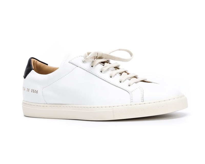 Italy Brand Original Common Projects Shoes Men Women Genuine Leather Sheepskin White Casual Platforms Shoes Woman Chaussures<br><br>Aliexpress