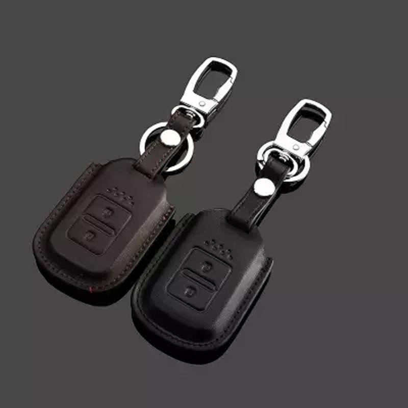 Key For Car Honda CRV Crosstour Jade Genuine Leather 3D Effect Free Shipping(China (Mainland))