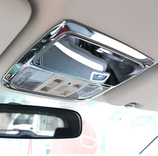 FIT FOR 2012 2013 2014 HONDA CRV ROOF MAP READING LIGHT PANEL TRIM COVER LAMP FRAME Accessories(China (Mainland))
