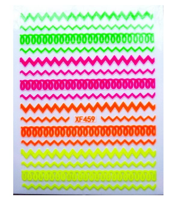 Наклейки для ногтей Sara's store 5cs 3D DIY #XF459 cs 100 diy cs b001