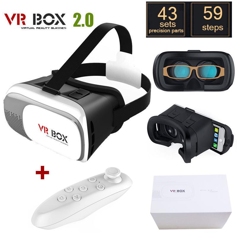 Original Google Cardboard VR BOX II 2 0 VR Virtual Reality 3D Glasses For 4 6