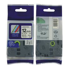Free shipping mixed TZ tape offered TZ-231 TZ-431,TZ-531,TZ131,TZ 631,12mm TZ label tape for p touch pt-d200