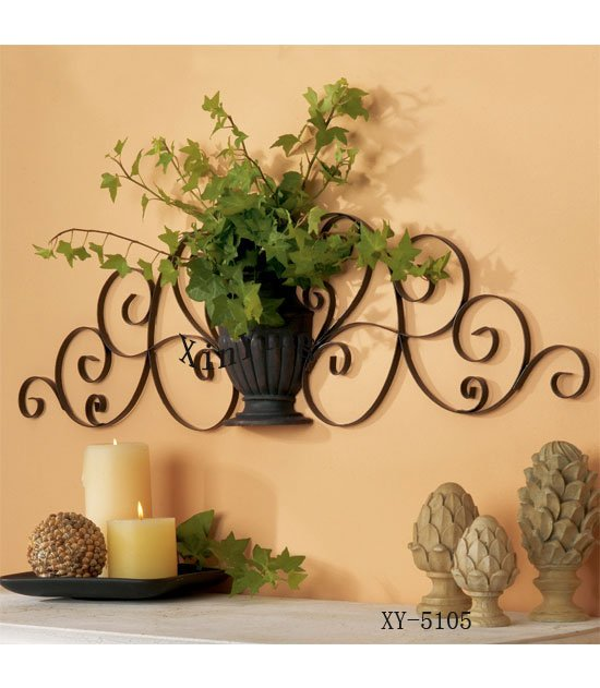 Home Decor Metal Wall Decor Iron Plant Holder-in Other ...