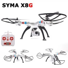 Syma X8G RC Drone Quadcopter with 8MP Wide Angle HD Camera 2.4G 6Axis Professional Venture Training Grade RC Helicopter