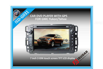 Two Din 7 Inch Car DVD Player For Buick Enclave 2007 GMC Yukon Acadia With 3G Host Rear View Camera GPS BT IPOD TV Free Maps