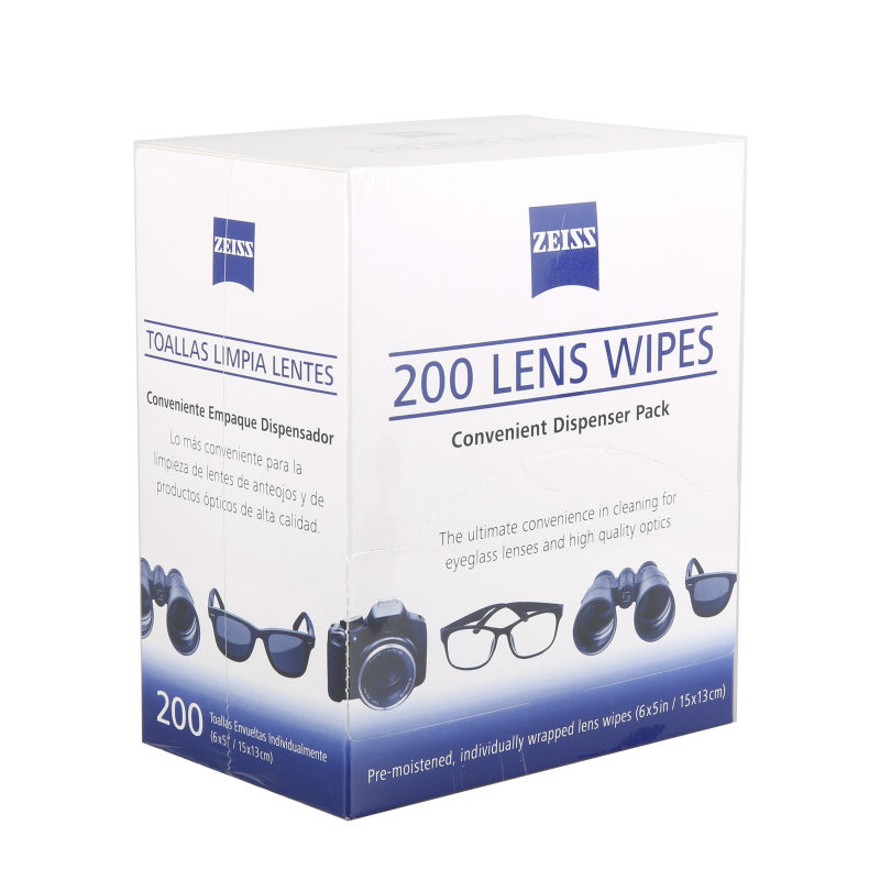 200pcs Zeiss Microfiber glasses wipes camera sensor lens cleaning kit screen cleaner(China (Mainland))