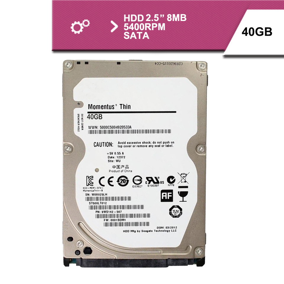 "Brand Sealed 2.5 ""40GB sata 100MB/s notebook hdd hard disk drive 2mb 4200rpm(China (Mainland))"