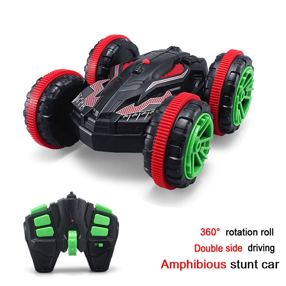 Hot Sale New Remote Control 4CH Racing Car 2.4G RC Drift Buggy Ultra-cool Auto Stable Stunt Can Driving on Water and Land(China (Mainland))