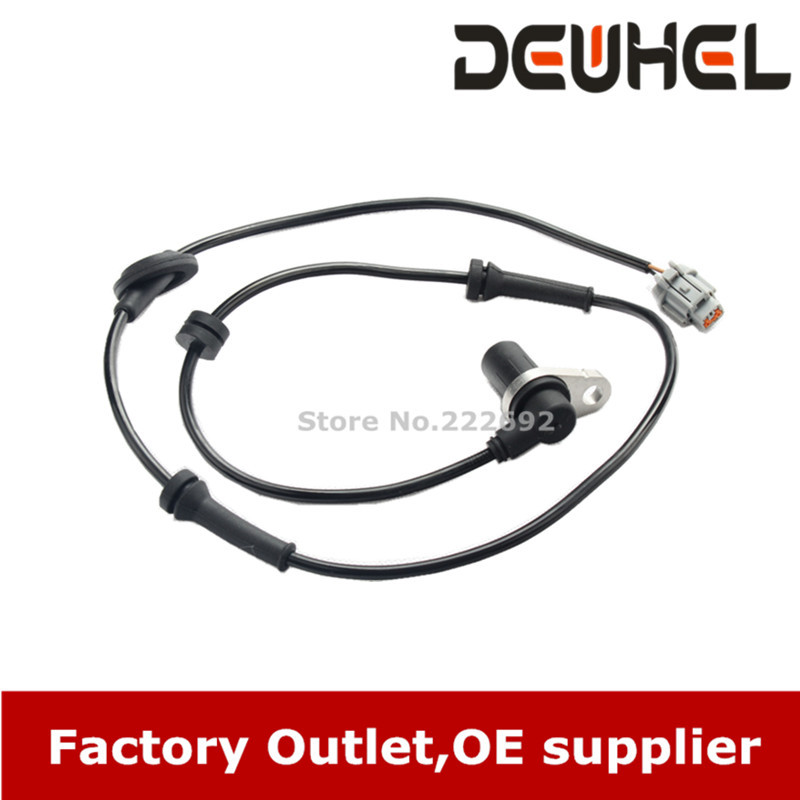 ABS WHEEL SPEED SENSOR FIT 2002 2003 MAXIMA FRONT RIGHT PASSENGER RH FR 47910-2Y060 47910-2Y061 47910-8H300(China (Mainland))