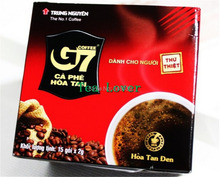 Vietnam central plains the G7 Black Coffee Without Sugar instant Coffee 2 g 15 package to