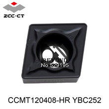 Buy CCMT120408-HR YBC252, Zcc Cutting Blade milling Insert Zhuzhou Diamond Original Products Price Ratio Extremely High for $43.19 in AliExpress store