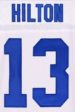 12 Andrew Luck shirts jersey #13 T.Y. Hilton #81 Andre Johnson #1 Pat McAfee stitched good quality(China (Mainland))