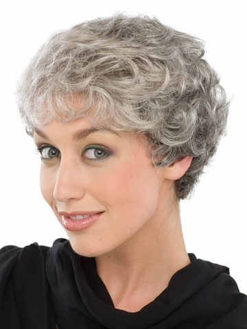 elderly short hair styles