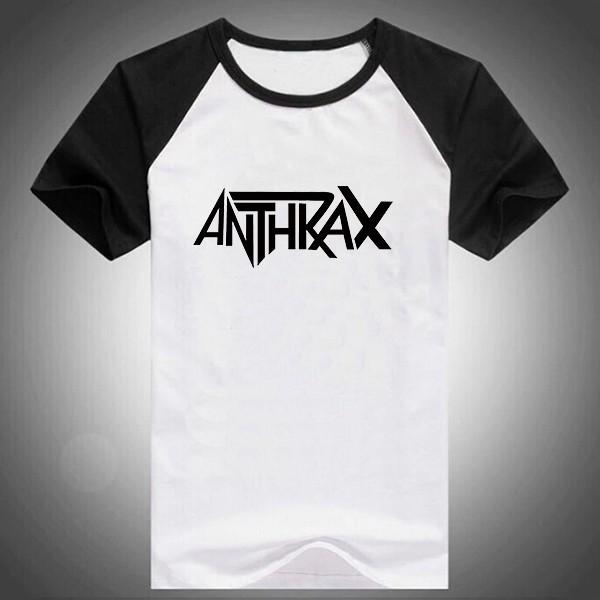 600PX Raglan Short Sleeve T-shirt Anthrax 2