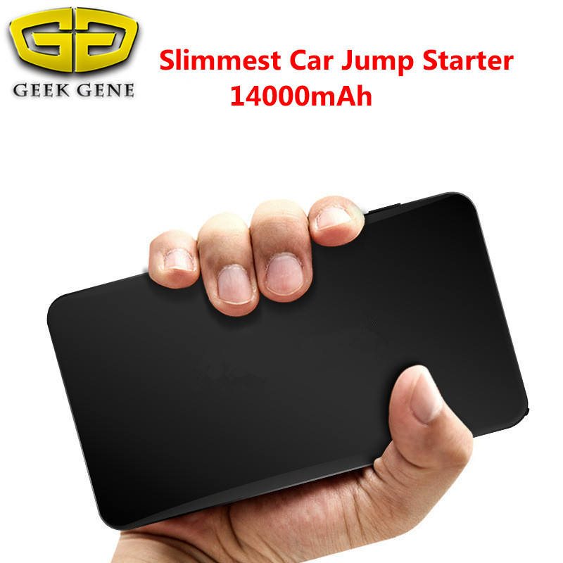 High quality 14000mAh New mini Car Jump Starter Battery Emergency Charger Multi-Function Mobile Phone Power Bank SOS Light(China (Mainland))