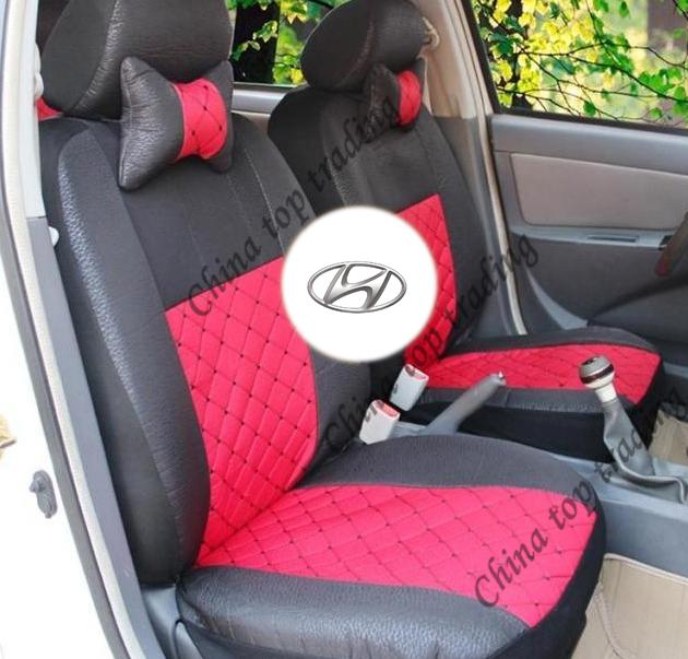 All Silk Meterial Car Seat Cover Universal For For Hyundai