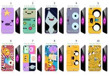 Mobile Phone Cases Wholesale 10pcs/lot Adventure Time Protective White Hard Plastic Case For Iphone 6Plus 5.5Inch Free Shipping