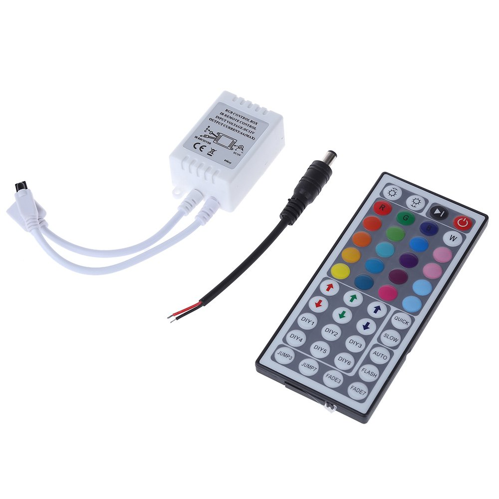 44 Keys IR Remote Controller for RGB LED Strip Lamp 10CM - 500CM Remote Distance 20 Colors RGB Controller(China (Mainland))