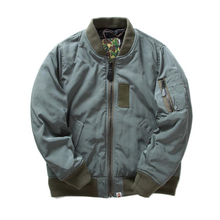 Fashion For Men Clothes Coat Fleece Kryptek Camo Letterman