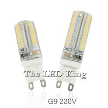 Buy G9 LED Lamp 7W 9W 10W 11W Corn Bulb AC 220V SMD 2835 3014 48 64 96 104leds Lampada LED light 360 degrees Replace Halogen Lamp for $1.01 in AliExpress store
