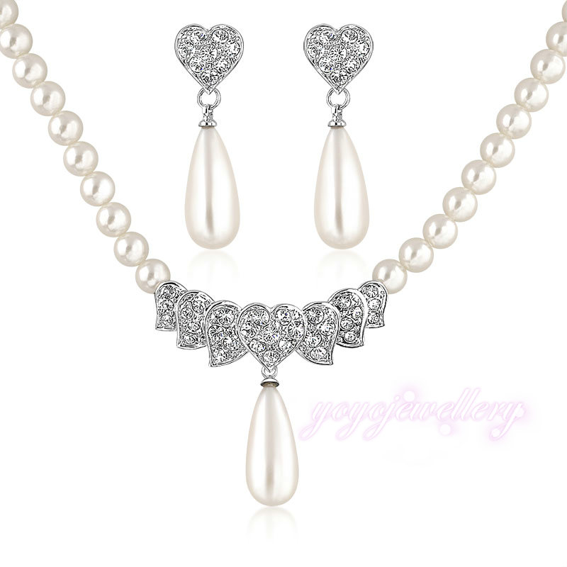 aliexpress buy mytys pearl jewelry sets for