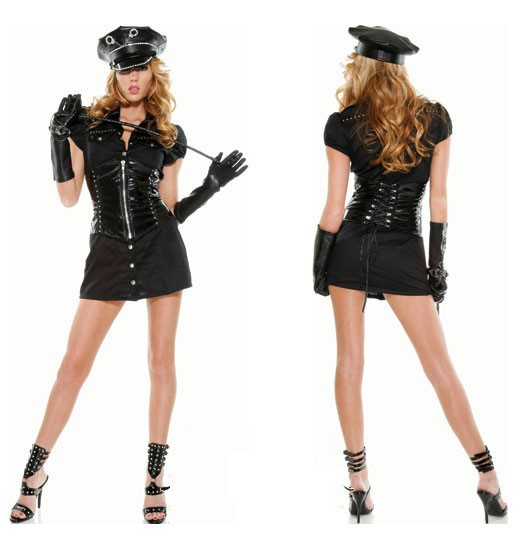 Free shipping Stage costumes role playing under a policewoman party cosplay