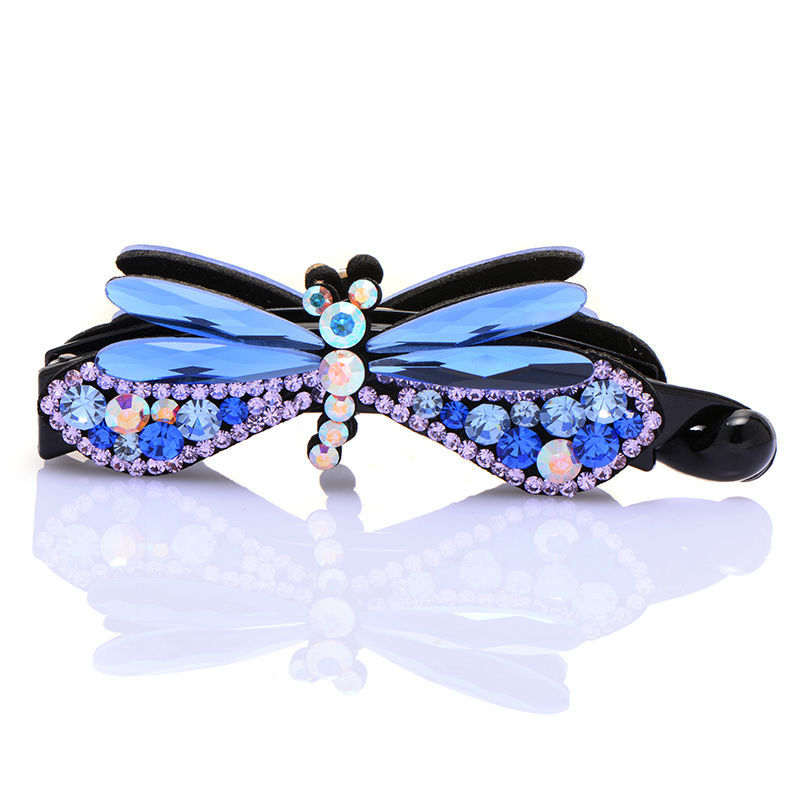 Fashion handwork  hair jewelry  hairpins  hair claw 2014 New Color Dragonfly style  Free Shipping 11.11Promotion
