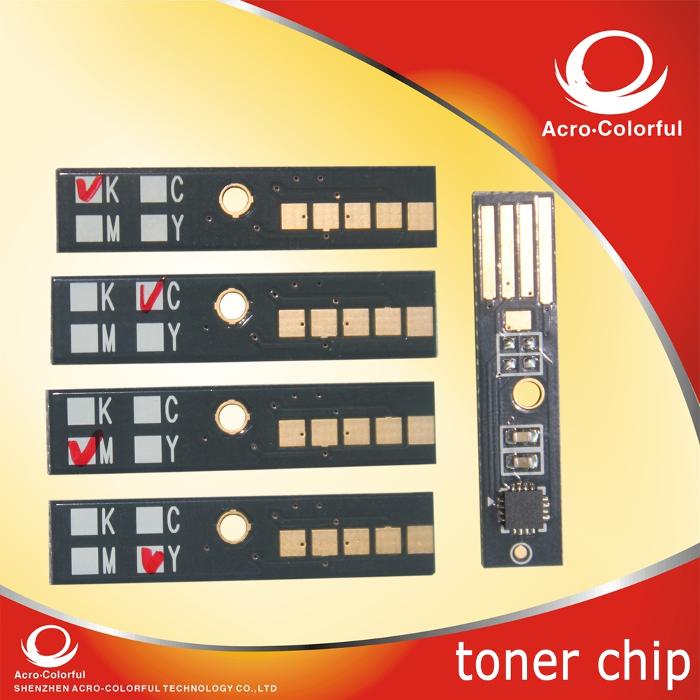 Compatible for Dell 2150 2155 color laser printer or copier toner cartridge reset chip(China (Mainland))