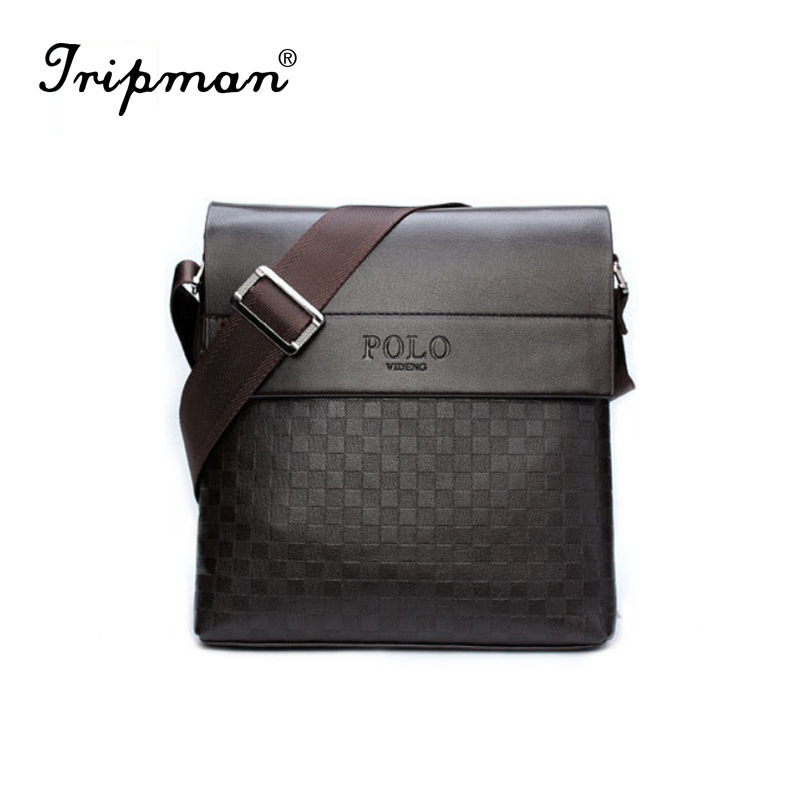 2016 special offer leather men messenger bag fashion brand men business crossbody bag brand POLO Shoulder Bag briefcase(China (Mainland))