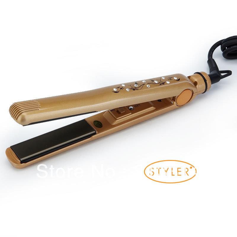 Здесь можно купить  Free shipping Hot Selling professional hair straightener with diamond straightening iron  Красота и здоровье