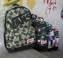 30 style School Youth Trend schoolbag 2015 new ladies female man shoulder bag backpack VANS Escolar
