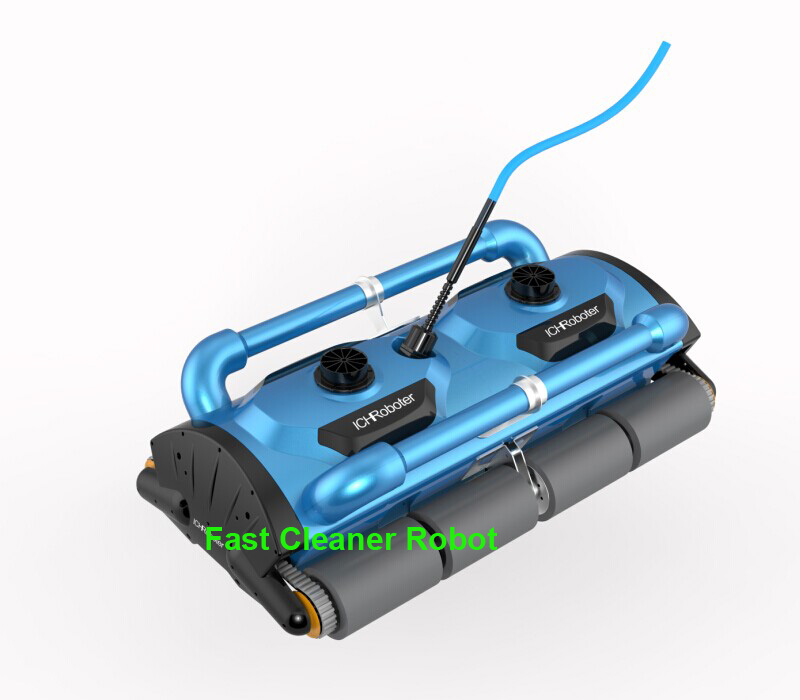 Newest Commercial Use Robot Swimming Vacuum Cleaner Pool Cleaner For Big Pool( Cleaning capacity for 1000M2) with Caddy Cart(China (Mainland))