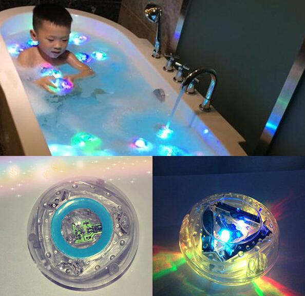 Bath Tub Night Light Swimming Pool Floating Pool Spa LED Color Change Waterproof(China (Mainland))