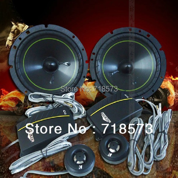 Free shipping us K car audio KICKER DS650.2 car 6.5 -inch suit speakers on sale(China (Mainland))