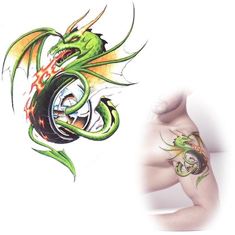 Как сделать тату с драконом